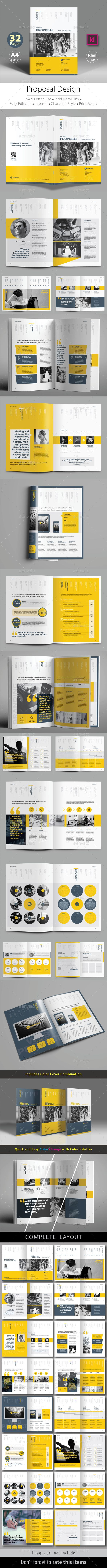 proposal v3 stationery designbrochure designproposal templatesbooklet - Booklet Design Ideas