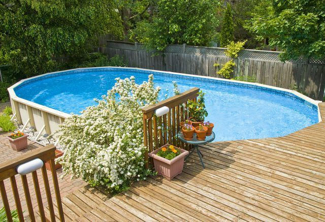 Deck Ideas for an Above Ground Pool Above Ground Pool Ideas