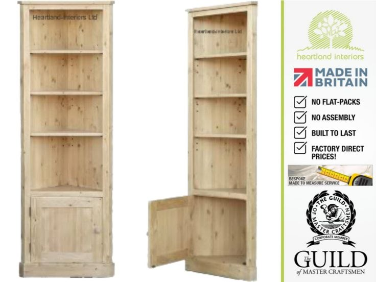 Natural Pine Bookcase - Office Furniture for Home Check more at http://fiveinchfloppy.com/natural-pine-bookcase/