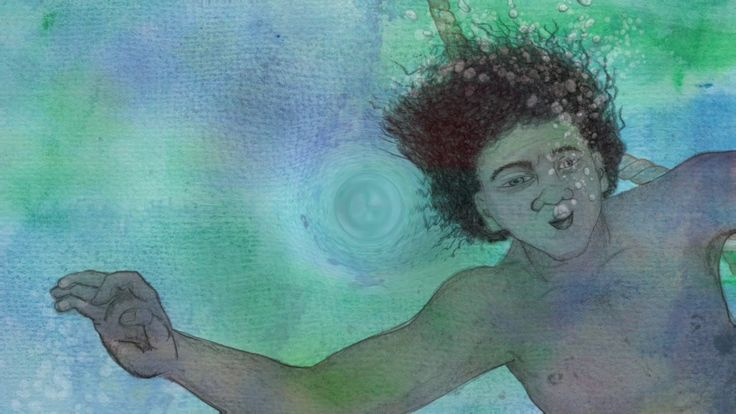 Lorrae Coffin's song Free Diving about the Aboriginal men and women who worked as 'free divers' in the early days of WA's pearl diving industry. Features illustrations from Bronwyn Houston for Lorrae's children's picture book of the same name.