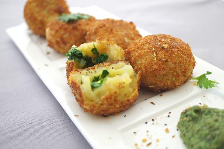 Potato Rolls - bake not fry