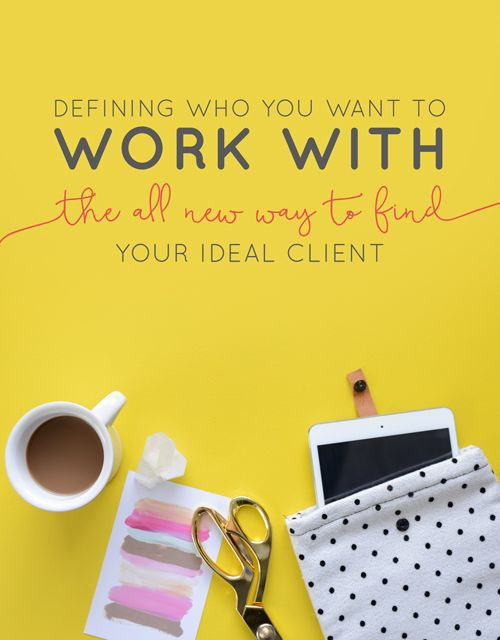 There's something special about being your own boss and owning your own business. It's one of those things that we may not think we have control over, but at the end of the day you are the one with the power. One of the things that we all forget from time to time is simple: we get to pick, define and choose who we work for (i.e. our clients, customers and dream team) | Think Creative Collective