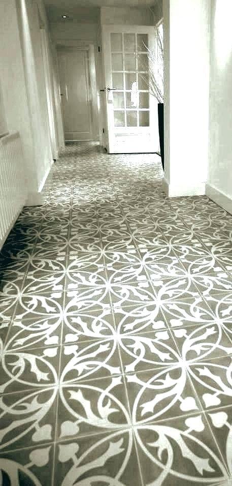 Retro Kitchen Floor Tile Tiles Patterned Artisan Range ...