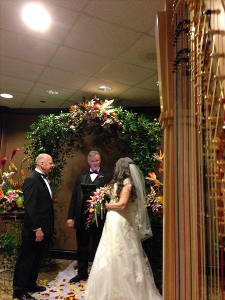 Meghan Caulkett Philadelphia Harpist Wedding Ceremony Harp MusicWedding