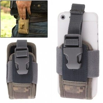 Outdoor Nylon Durable Pocket / Pouch for iPhone - Camouflage