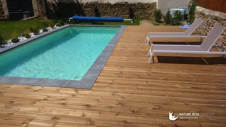 8 best Nos réalisations en bois résineux Pin Sylvestre images on - terrasse beton imprime prix m