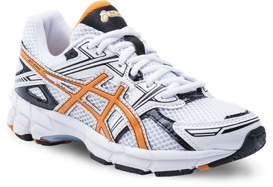 GT-1000 GS  White/Orange/Black  Available in sizes 1 - 7