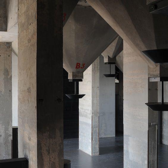 Salle de spectacle du silo d'Arenc par Roland Carta