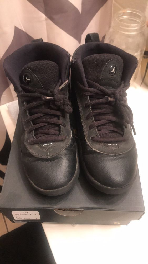 da8b0e4fe68 boys jordan jumpman pro black shoes size 3y  fashion  clothing  shoes   accessories  kidsclothingshoesaccs  boysshoes (ebay link)