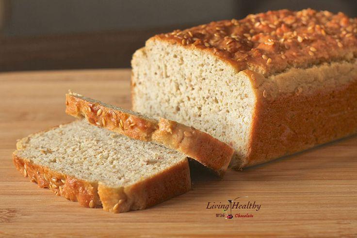 Sandwich Bread (8.5 x 4.5 loaf tin) - 2 cups almond flour, ⅓ cup + 1 tbsp flaxseed meal, 1 tsp whole flaxseeds, 1 tsp apple cider vinegar, ½ cup greek plain yogurt (or *coconut cream), 6 tbsps butter (or coconut oil) 4 eggs, 1 tsp baking soda, ½ cup arrowroot powder, ½ tsp salt.