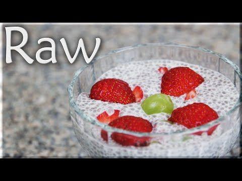 Nejjednodušší RAW dezert - Chia pudink - YouTube