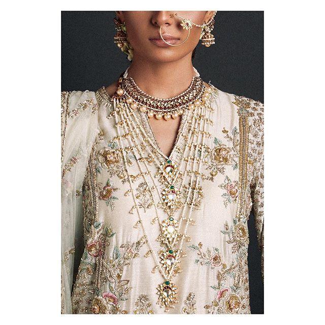 Details - Bridals 2016 #zarashahjahan #bridals #fashion #vintage