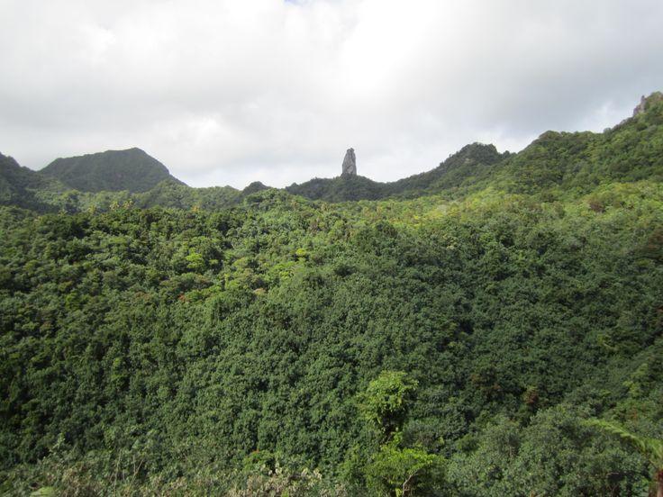 Beautiful mountains during the Raro Safari Tour  #CookIslands #Rarotonga #Vacation