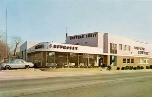 1965 Corvair at the Chevy Dealership ..