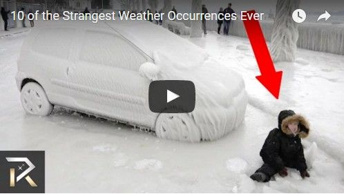 Beautifulplace4travel: 10 of the Strangest Weather Occurrences Ever