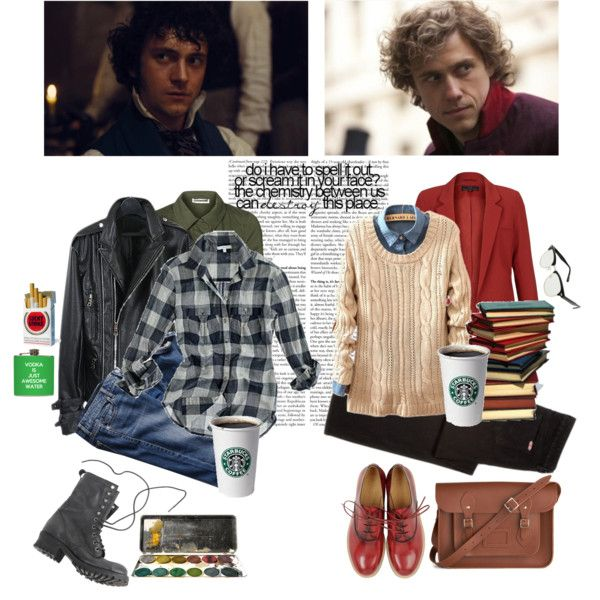 Les mis: Enjolras & Grantaire created by old-soul-92 on polyvore