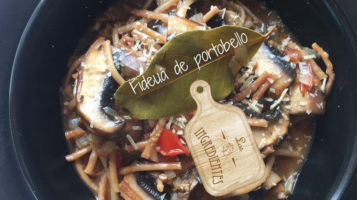 Fideuá de portobello _ Los Ingredientes Receta completa en Youtube Te invitamos a suscribirte en nuestro canal de Youtube: Los Ingredientes, haciendo clic en el siguiente enlace: https://www.youtube.com/channel/UCNoxMvQ4SOfYGX9hNrrq-Jg…