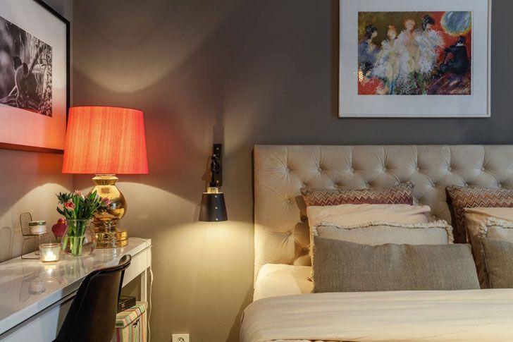 Шведская квартира в красивой цветовой гамме | Пуфик - блог о дизайне интерьера
