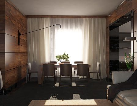 Design Project Of Interior Of Private House.