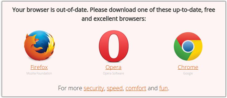 Browser-Update