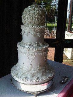 ROYAL ICED WEDDING CAKE GRIMSBY by KC WEDDING CAKES GRIMSBY, via Flickr