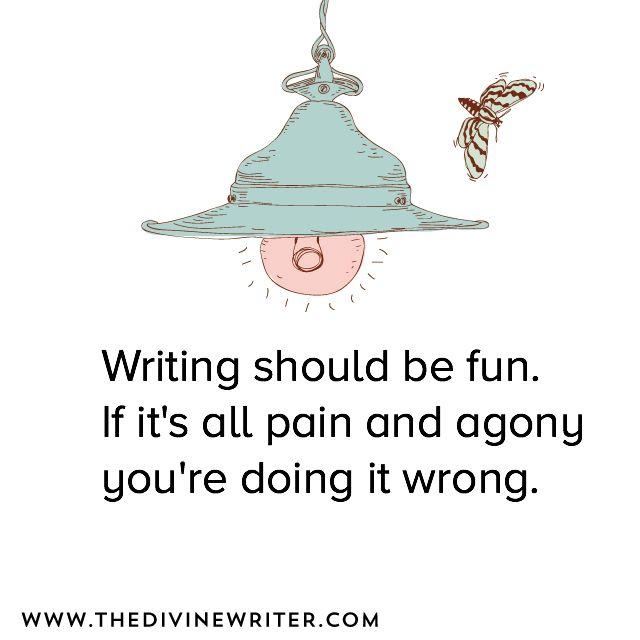 #writing should be fun.