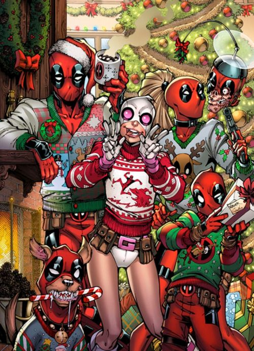 Gwenpool Holiday Special - Todd Nauck