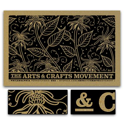 JP Flexner // Creative Services: The Arts & Crafts Movement // Band Promo // Philadelphia