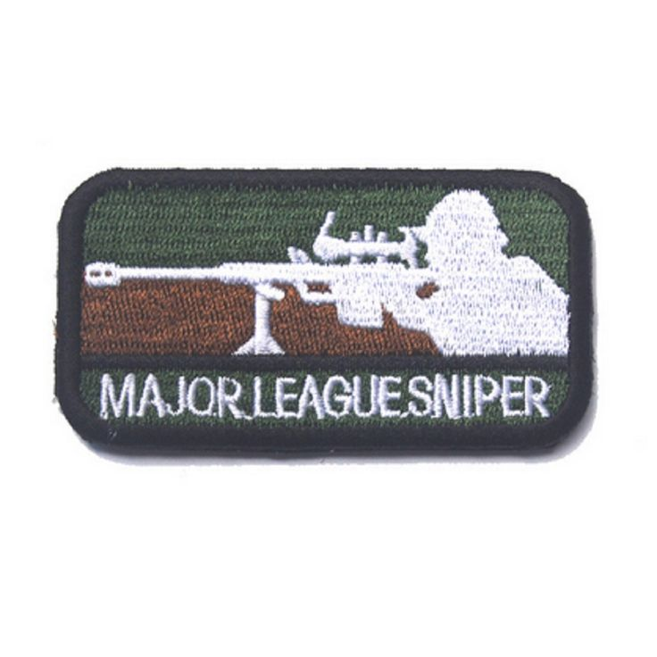 3D embroidery Sniper Major league patches magic stickers  Army fans Backpack Flag of Mexico Cloth patch Badges #Affiliate