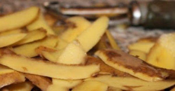 Οι περισσότεροι άνθρωποι συνηθίζουν να καθαρίζουν τις πατάτες για να τις χρησιμοποιήσουν στο φαγητό και να πετάνε στα σκουπίδια τις φλούδες από το καθάρισμ