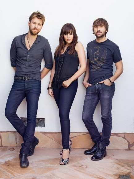 Lady Antebellum. Hilary Scott is one of the only female country musicians I actually enjoy.