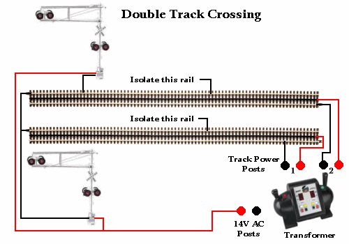 train+tracks+pts+diagram | railroad crossing signal ... a g scale track wiring model train track wiring a switch