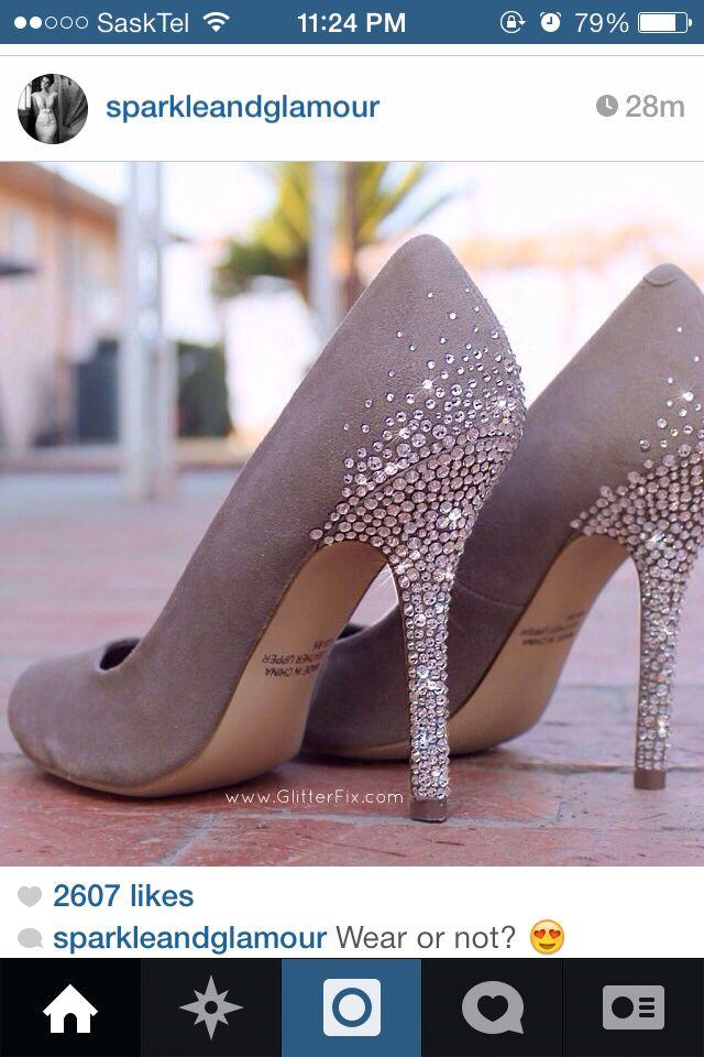 Found my grad shoes... Www.glitterfix.com