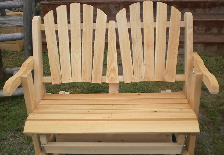 Cedar Glider by Flamborough Patio