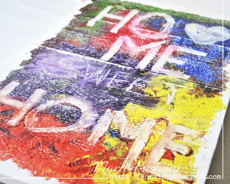 homemade poster ideas