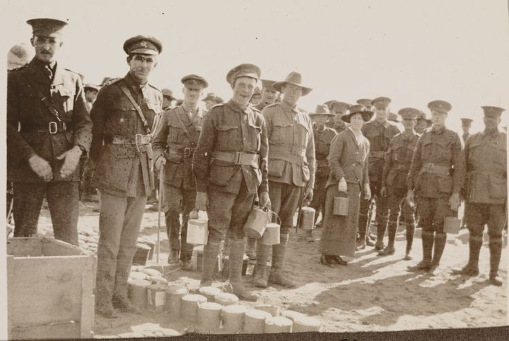 8458B/2/76: Red Cross gifts and Christmas cheer. Probably 11th Battalion in Egypt, January 1916  https://encore.slwa.wa.gov.au/iii/encore/record/C__Rb3599635