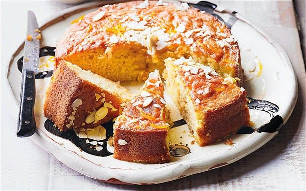 orange scented olive oil almond cake recipe A light olive oil ...