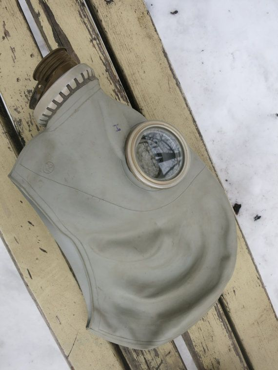 Soviet Russian Gas Mask Made in USSR size 3 от AllForHappyAndLoveV