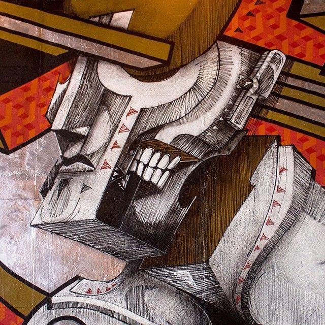 #detail #streetart #b47sp #mural #instagrafite #santoandre (em www.b-47.com.br)
