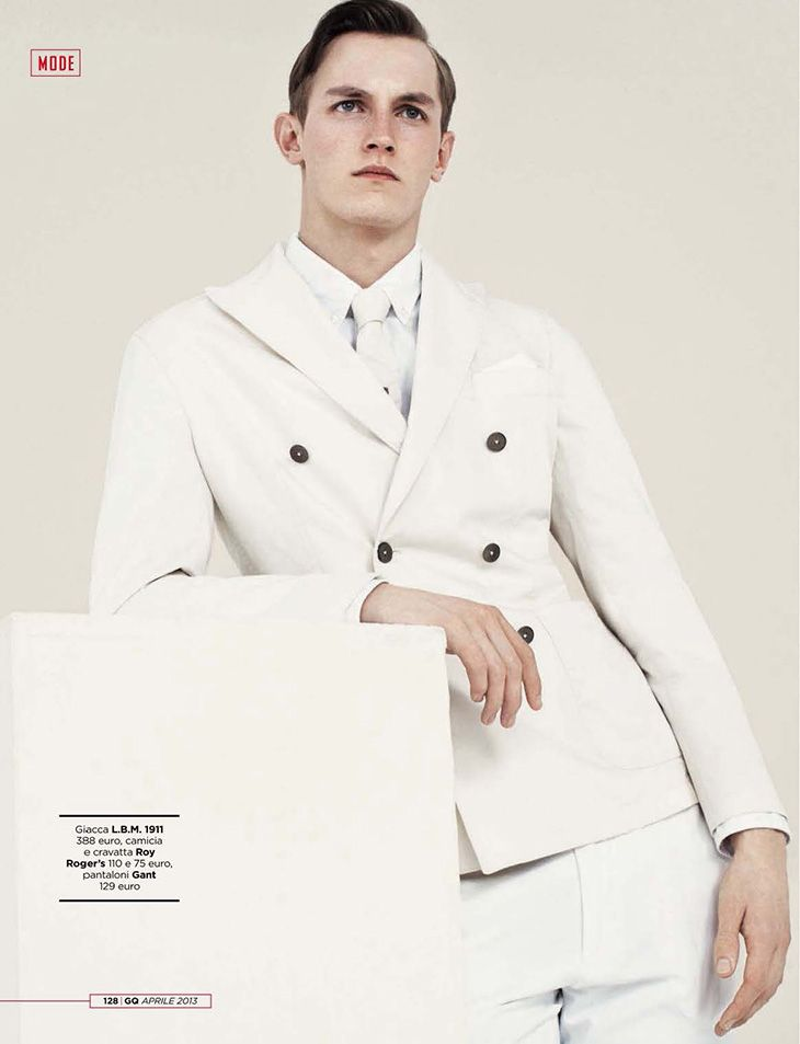Rutger Schoone by Vanmossevelde+N for GQ Italia