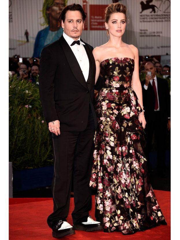 アンバー・ハード (Amber Heard),ジョニー・デップ(Johnny Depp),ヴェネチア国際映画祭2015