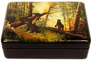 My Russian box with bears is still one of my favorites.