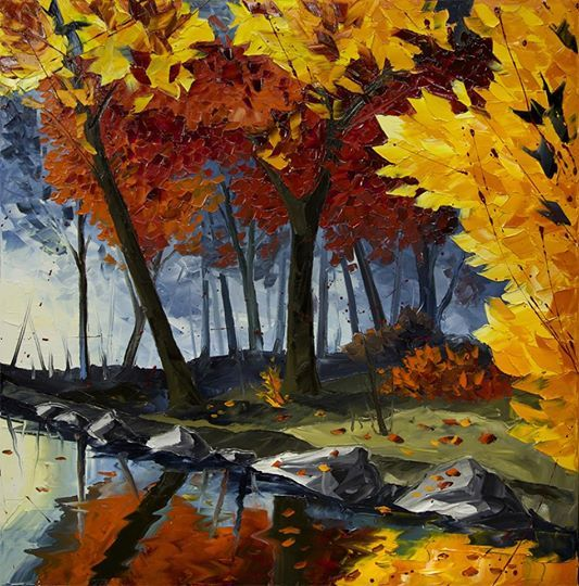 Jean-Simon Bégin Artiste Peintre ~ Oil on Canvas