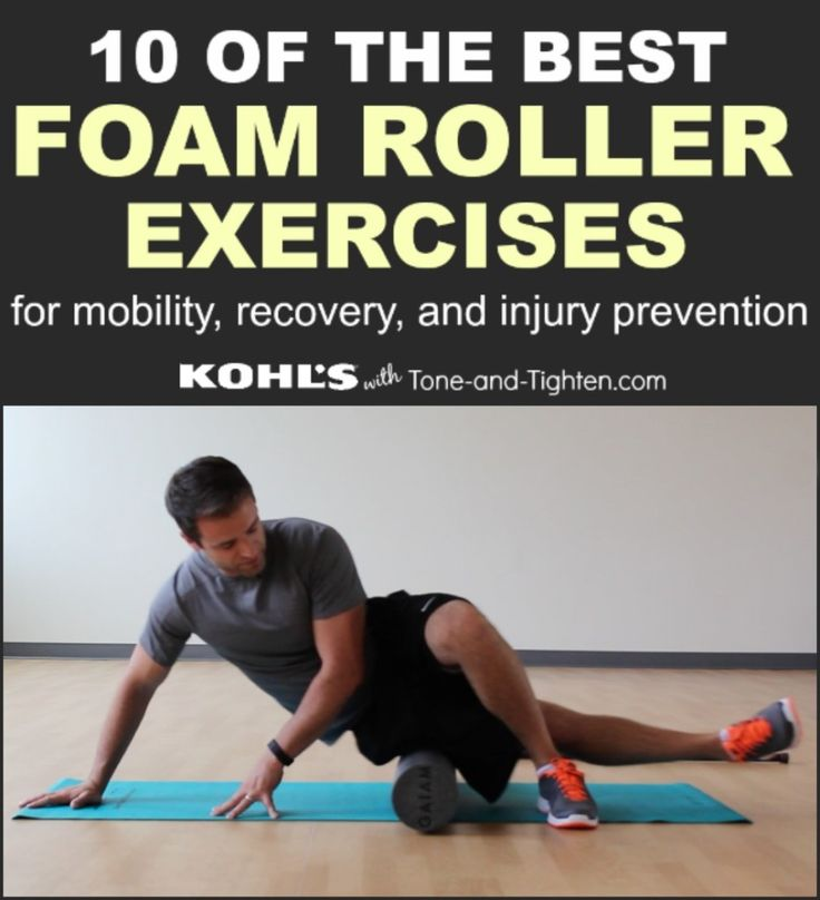 best foam roller exercises for injury and mobility tone tighten