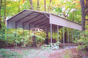A Frame Carport - Roofing Types - Carports.com - TNT, Metal Carports, Garages, Buildings, RV Covers, Boat Covers, Barns