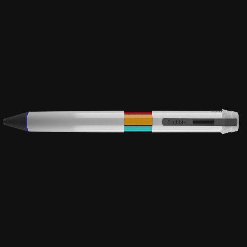 Scribble ist ein Chamäleonstift, der in jeder erdenklichen Farbe malen kann