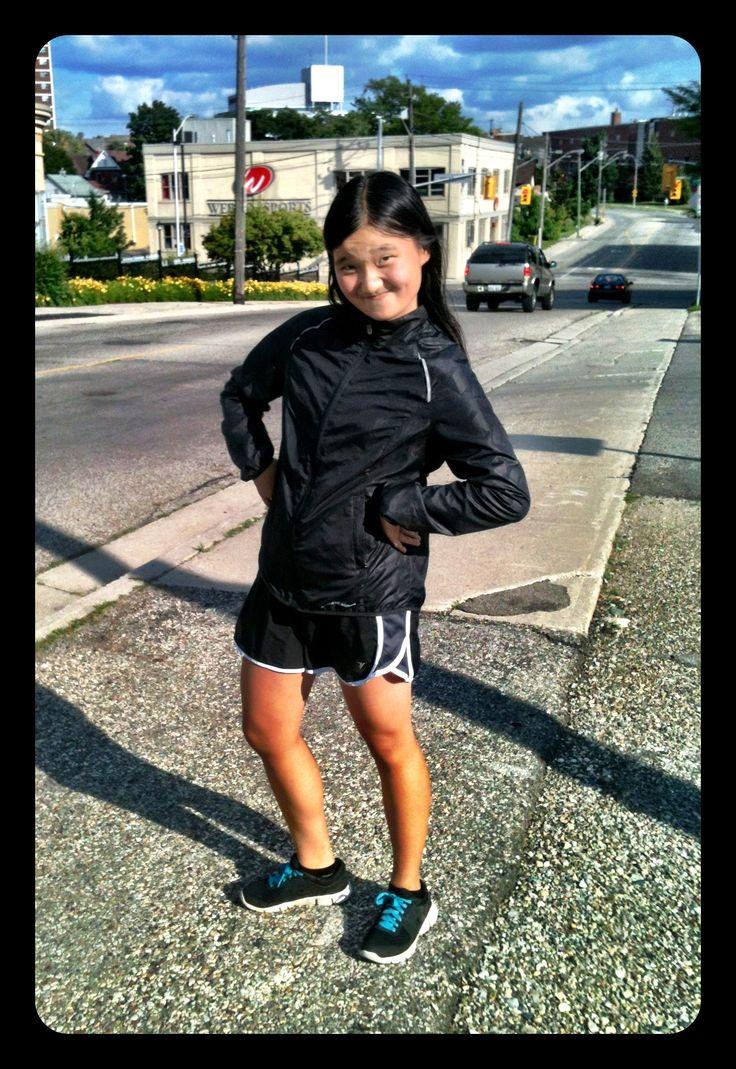 Black clad sporty Kit