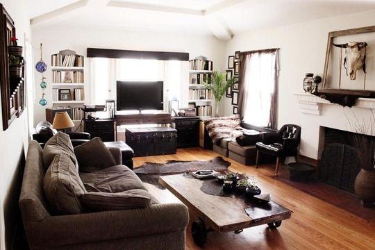Farmhouse Bookshelf Decor Family Rooms