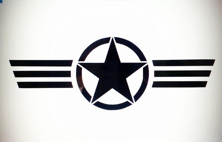 U S Air Force Emblem Logo Vinyl Decal Sticker By