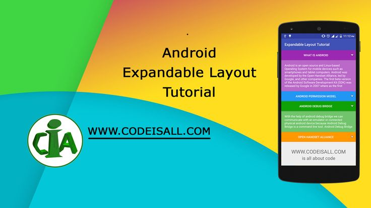Android Expandable Layout Tutorial With Example - Code Is All